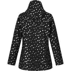 Regatta Bertille Waterproof Shell Jacket Women black dot